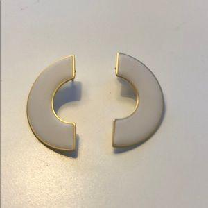 LIKE NEW - madewell Art Deco earrings